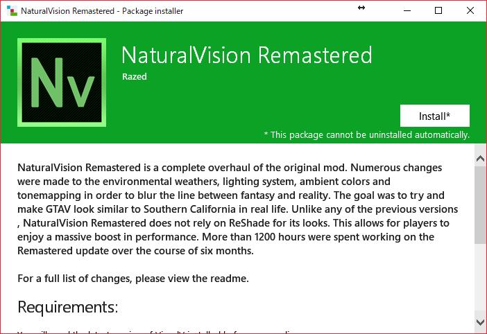 GTA5最強のグラフィックMOD「Natural Vision」が究極進化!「Natural